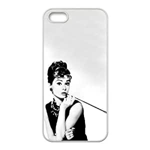 iPhone 5,5S phone cases White Audrey Hepburn Phone cover KLW4115752