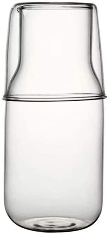 Bedside Product Water Carafe Set with Glass Tumbler Bedroom for Max 44% OFF Nigh
