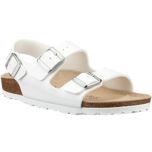 - Birkenstock Mens Milano White Synthetic Sandals 44 EU
