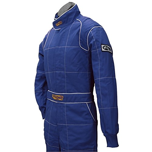 Red 2 Layer Racing Suit-One Piece-SFI-5 Rated, XL by Speedway Motors (Image #4)
