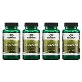 Swanson High Potency Quercetin 475 Milligrams 60 Veg Capsules (4 Pack)