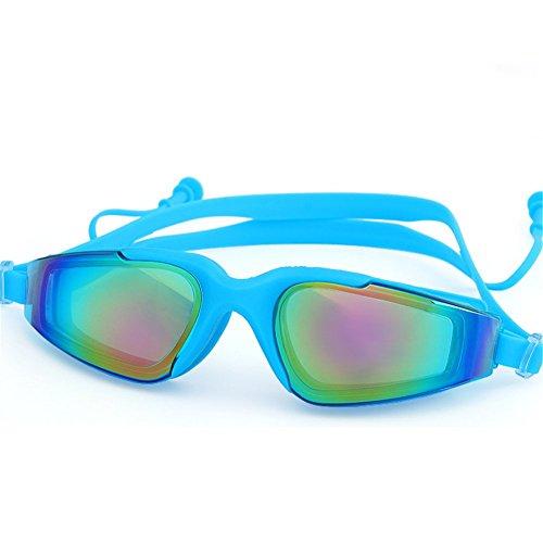 Z-P Waterproof Anti-fog High-definition Mirror Colorful Swimming - Buy Swimming Prescription Goggles