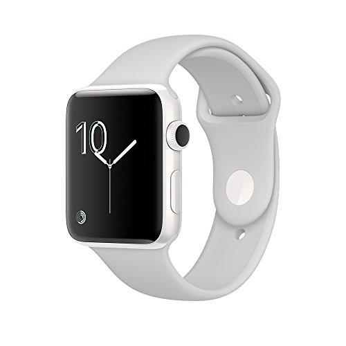 Apple Watch Edition 38mm ホワイトセラミックケースとクラウドスポーツバンド MNTN2J/Aの商品画像