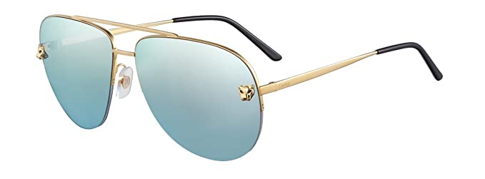 Cartier Gafas de sol - para mujer Turquesa Gold/Turquoise ...