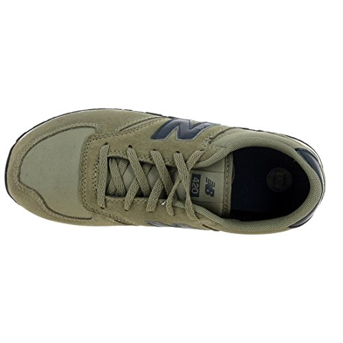 Chaussures Sage Nuy Balance New Suede Jr enfant KL420 Vert 5ZSCZOW4
