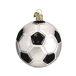 Best Epic Trends 417oeCnIznL._SS300_ Old World Christmas 2020 Christmas Ornament Soccer Ball Glass Blown Ornament for Christmas Tree