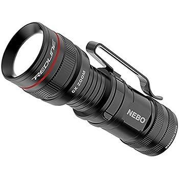 Nebo #6272 Micro Redline 0C Flashlight, Black