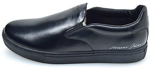 Nero Slip Homme 935067 Chaussures Baskets Sur Armani Noir Le De Jean Code Oq6zvBO