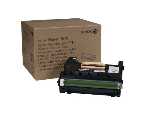 Copier Drum Kit (Genuine Xerox Smart Kit Drum Cartridge for the Xerox Phaser 3610 or WorkCentre 3615, 113R00773)