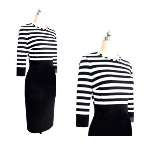 Janecrafts Striped Dress (XL) by Janecrafts (Image #2)