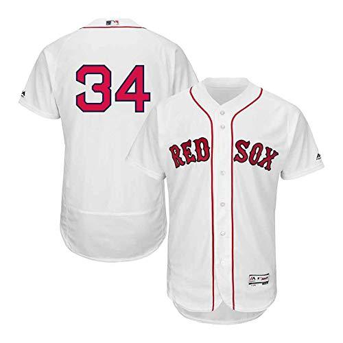 M & N Boston Red Sox David Ortiz #34 Home Cool Base Player White Men