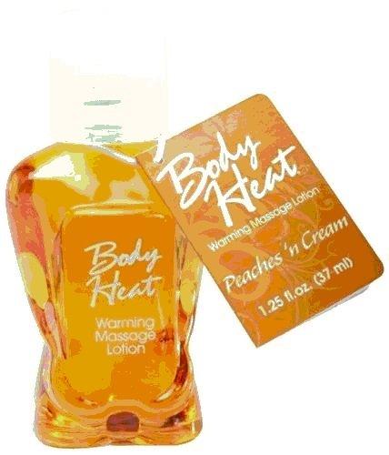 Peach Cream FLAVORED Lotion WARMING Massage Lube Sex EDIBLE Oil 1.25oz includes unique 20%