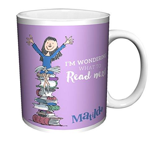 Roald Dahl MATILDA QUOTE What To Read Next Classic Literature Book Ceramic Gift Coffee Tea Cocoa Mug (15 OZ C-HANDLE CERAMIC MUG)