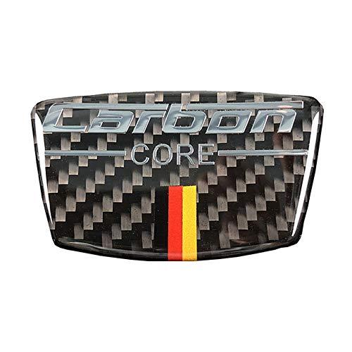 hors Carbon Fiber Door B Column Scratches Overlap Door Window B+C Pillar Decoration Decal Cover Trim Emblem for Audi BMW Mercedes Benz FZT6 (German Flag) ()