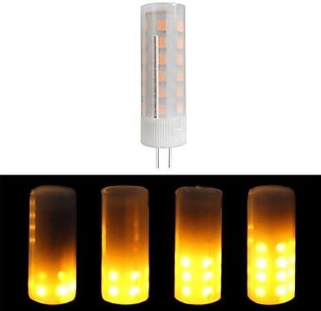 G4 Flicker Flame Light DC 12V 2W LED Burning Light Bulb Fire Effect Lamp Decor