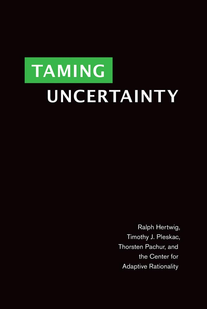 Taming Uncertainty (The MIT Press) by The MIT Press