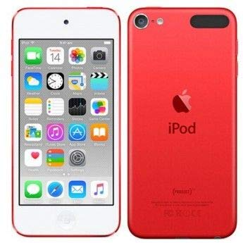 (Apple iPod Touch 32GB Red (6th Generation) (Renewed) )