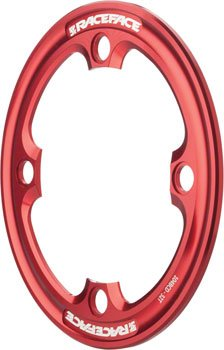 RaceFace 32T Light Bash Guard Red 104mm BCD