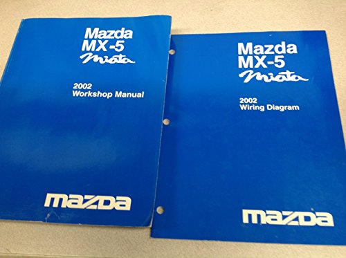 galleon 2002 mazda miata mx5 mx 5 service repair shop manual set rh galleon ph 2015 Chevy Cruze Factory Service Manual mx5 factory service manual