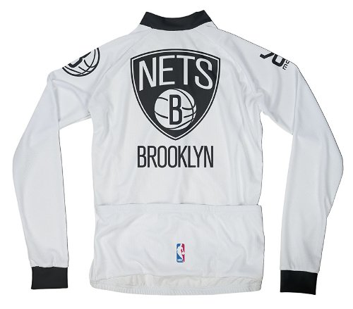 Amazon.com   NBA Brooklyn Nets Men s Long Sleeve Cycling Jersey ... ce5b3d8d2