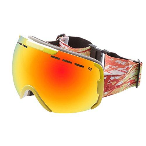 SE7VEN Lunettes De Ski Double Couche,Bonne Vision Claire Anti-buée Unisexe  Verres Anti 8f5536fc373a