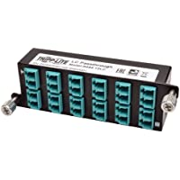 TRIPP LITE 10GbE High Density Pass-Through Cassette 12 LC Duplex Connection (N484-12LC)