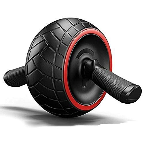 AFITNESS Big AB Roller Wheel, Home Fitness Equipment Power Wheel Professional Abdominal Core AB Fitness Trainer Exerciser for Men and Women