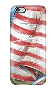 Tpu Shockproof/dirt-proof Independence Day Usa Cover Case For Iphone(6 Plus)