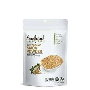 Sunfood Maca Powder, 8oz, Organic