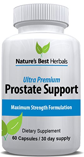 - Ultra Premium Prostate Support with Saw Palmetto | Extra Strength Formula for Men with Frequent Urination | Supports DHT Blocking, Hair Loss Prevention & Strong Libido | 60 Capsules, 30 Day supp