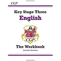 KS3 English Workbook (with answers) (CGP KS3 English)