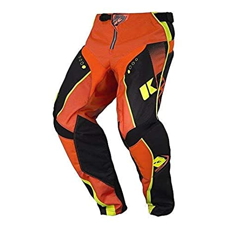 KENNY MX - Pantalón de chándal para niños, Color Naranja neón ...