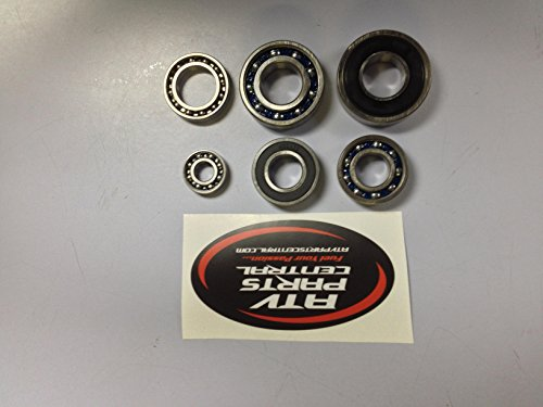Yamaha YFZ 450 2004-2009 Complete Bottom End Transmission Bearing Kit