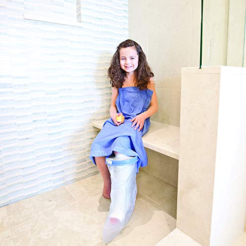 Seal-Tight Original Pediatric Cast Protector Waterproof Kids Cast Cover for Large Leg (31in Length)