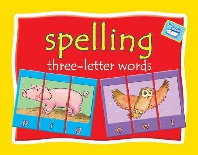 Spelling Three-letter Words - Flip Me! Book