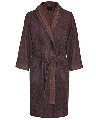 Armani International Robes Set XX-Large B-face Chocolate-Golden Brown ()