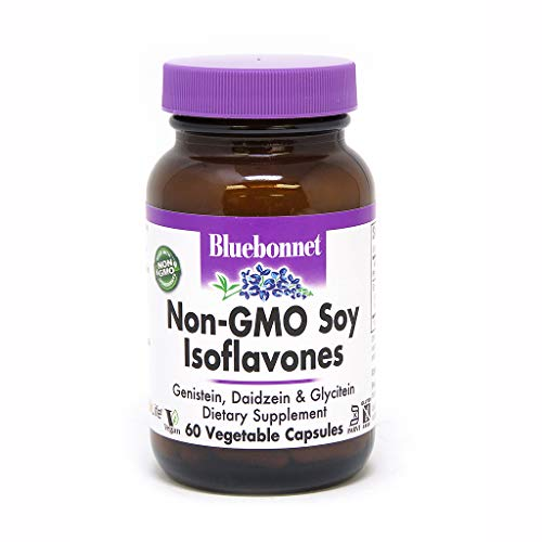 BlueBonnet Non-GMO Soy Isoflavones Supplement, 60 Count