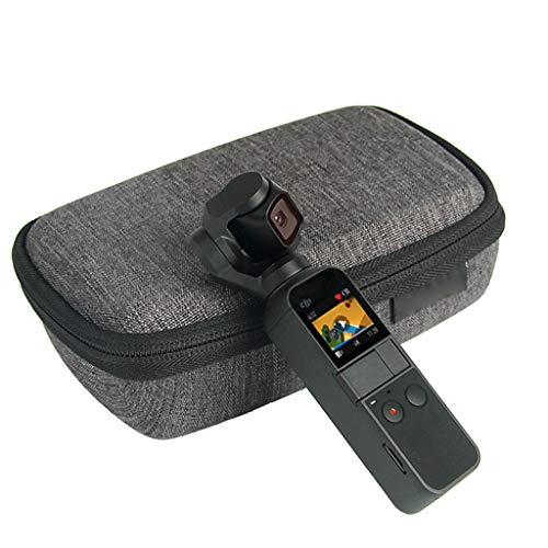 New!!Cindero Best for DJI OSMO Pocket Drone Portable Handheld Hard Bag Storage Carry Case ()