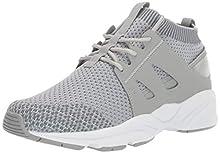 Propet Women's Stability Strider Sneaker, Grey, 9H 2E US