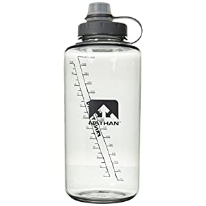 Nathan SuperShot 1.5-Liter Bottle, Grey, 1.5-Liter