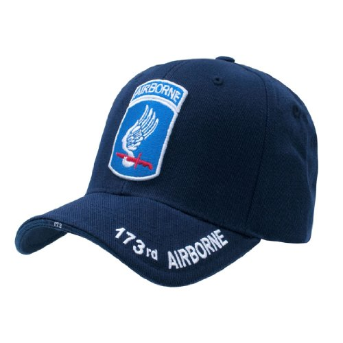 Rapid Dom US Military Legend Branch Logo Rich Embroidered Baseball Caps S001 173rd Airborne
