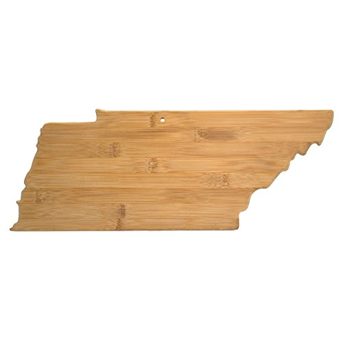 Board Home Cheese Kitchen (Totally Bamboo Tennessee State Shaped Bamboo Serving and Cutting Board)
