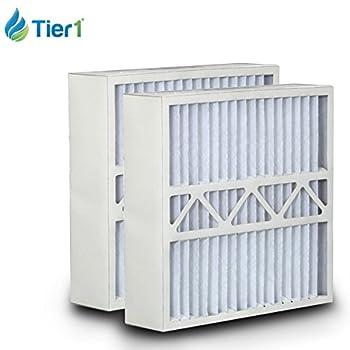Amana 20x25x5 Merv 11 Replacement AC Furnace Air Filter (2 Pack)