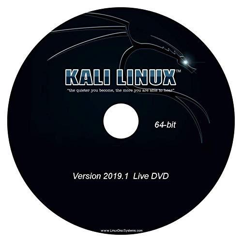 Price comparison product image Kali Linux 2019.1 64-bit Live / Install DVD