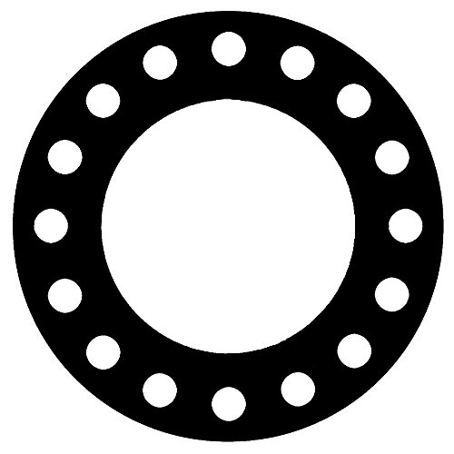 Soft 18 Pipe Size Full Face Gasket CFF1501.1800.125.300X1 1501 1//8 Thick Expanded Teflon//PTFE 18 ID 18 Pipe Size 1//8 Thick Supplied by Sur-Seal Inc Sterling Seal /& Supply Inc 18 ID of NJ Pressure Class 300#