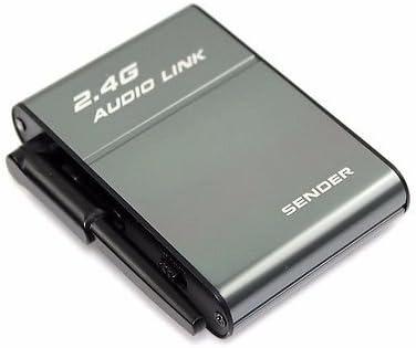 Universal 2.4GHz Stereo Wireless Hi-Fi Audio Transmitter Receiver Speaker BX501