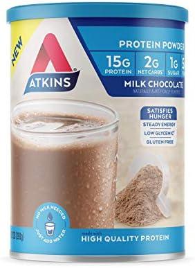 Atkins Gluten Protein Powder Chocolate
