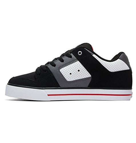 White Hombre para Pure Red Black DC Shoes 300660 Zapatos BWqYw6Up