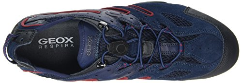 Basses Bleu Homme Geox Sneakers Blue Ruby Snake Uomo J HwU1xq4IF