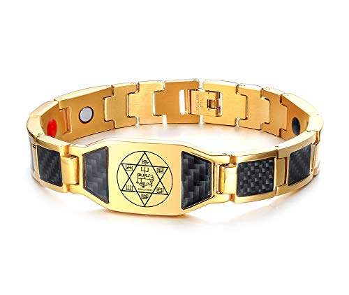 Magic Seals Amulets Spiritual Jewelry Magnetic Bracelet The Daemon Stolas for Learning Astronomy and The Use of ()